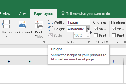 Tech Tip: Printing in Excel – Scaling and Repeating Rows and ...